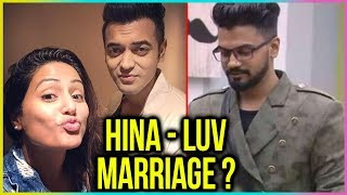 Hina Khan's SHOCKING Reaction When Fans Ask Her To MARRY Luv Tyagi