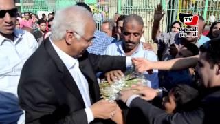 محافظ القاهرة يحتفل بالعيد مع الأيتام في الفسطاط