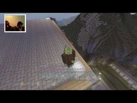 LIVE MINECRAFT XBOX 360 NEW CITY TEXTUREPACK LIVESTREAM
