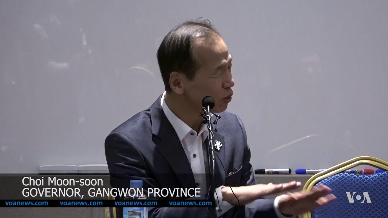 Korea DMZ Sends Olympic Peace Messages