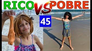 RICO VS POBRE FAZENDO AMOEBA / SLIME #45