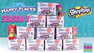 NEW Season 2 Shopkins Happy Places 2 Pack Surprise Delivery Boxes Opening | PSToyReviews
