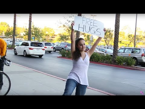 Free Hugs Experiment!!! Appearance Vs. Gender??? video