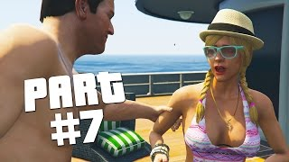 "Grand Theft Auto 5 - First Person Mode Walkthrough Part 7 ""Daddy's Little Girl"" (GTA 5 PS4 Gameplay)"