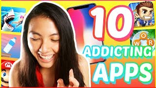 🔥TOP 10 Best FREE Addicting Games for iPhone and Android 2018: Apps YOU NEED! | Katie Tracy
