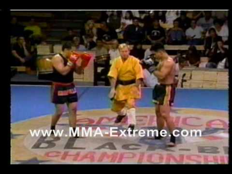 Cung Le 1998 SanShou demonstration Image 1