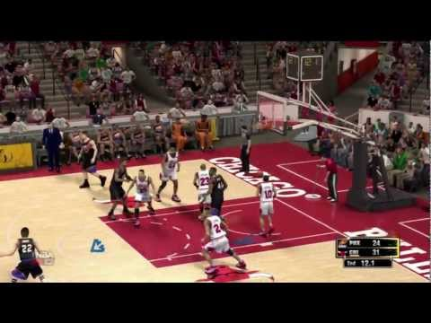 NBA 2K13 1993 Finals 3 O.T. Game 3 *Greatest Buzzer Beater* Chicago Bulls vs Phoenix Suns