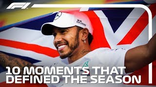 10 Moments That Defined Lewis Hamilton's 2018 Title-Winning Season