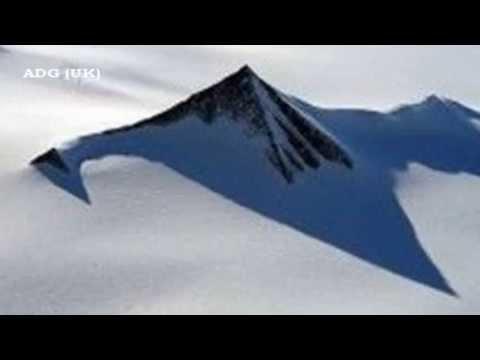 Древние пирамиды в Антарктиде