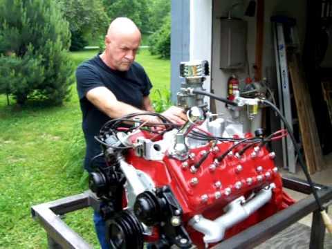 Flathead Engine Test Run Youtube