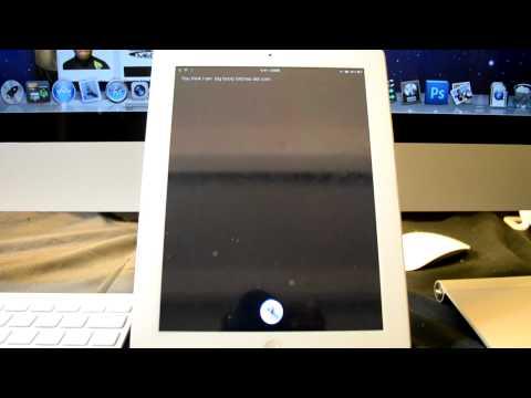 Siri Working On Ipad2 Working 100% Free @Dinozambas