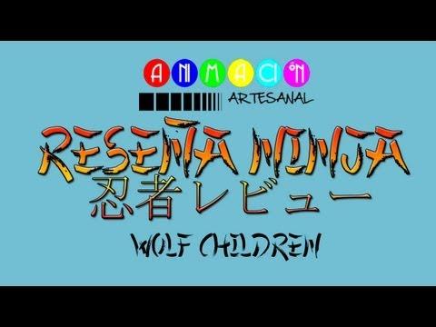 RESEÑA NINJA - Wolf Children
