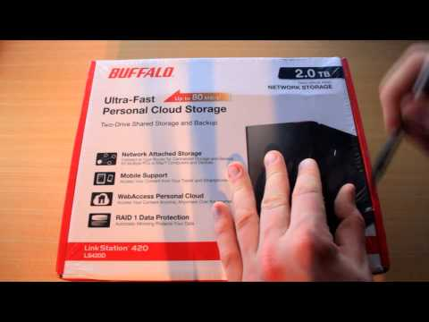 "Un-Boxing: Buffalo LinkStation™ 420 series: ""Network Attached Storage"" 2TB"
