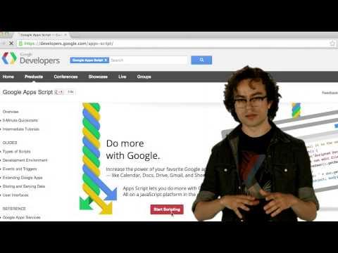 Introducción a Google Apps Script - Lección 1