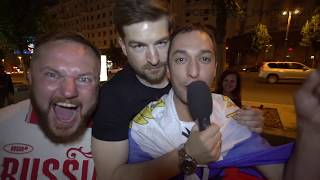 АААААААА!: Серёжа и микрофон в 4К (РОССИЯ - ИСПАНИЯ СПЕШЛ)