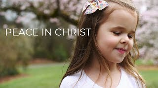 PEACE IN CHRIST - 5-YEAR-OLD CLAIRE RYANN CROSBY AND DAD