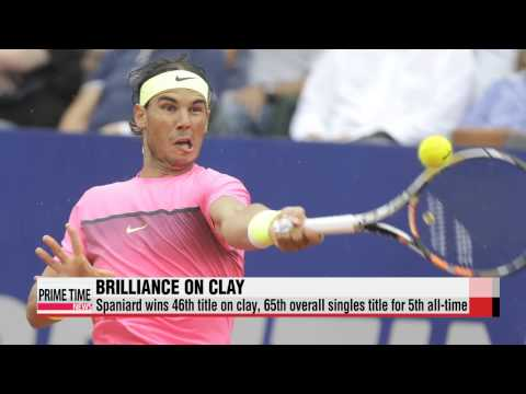 Rafael Nadal wins at Argentina Open for first title in 9 months   테니스: 나달, 9 개월