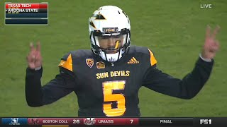 Texas Tech vs Arizona State football 2016