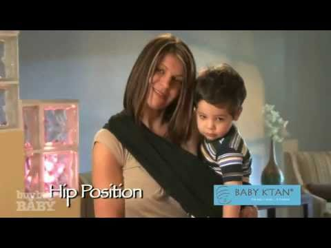 Hip Position w/ K'tan Baby Carrier at buybuy BABY