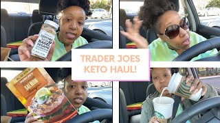 THE PERFECT HOT KETO STARBUCKS DRINK FINALLY, I GOT ROBBED+ TRADER JOES KETO HAUL!