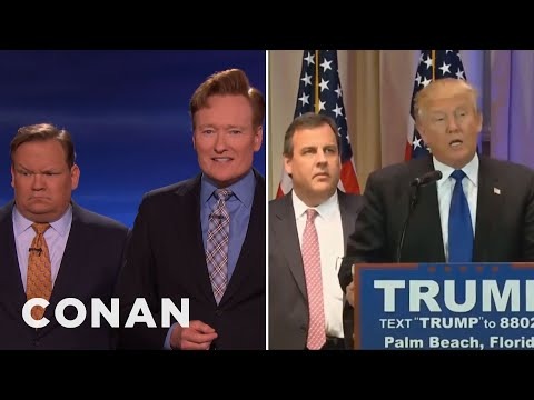 Chris Christie's Hostage Face Looks Familiar  - CONAN on TBS