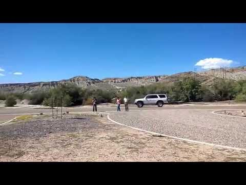 Big bend dam for Laughlin camping cabins