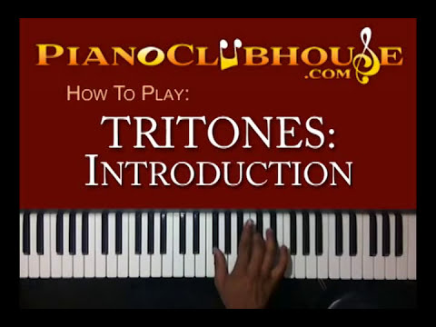 TRITONES: Getting Started (1 of 4) - easy gospel piano tutorial ♫