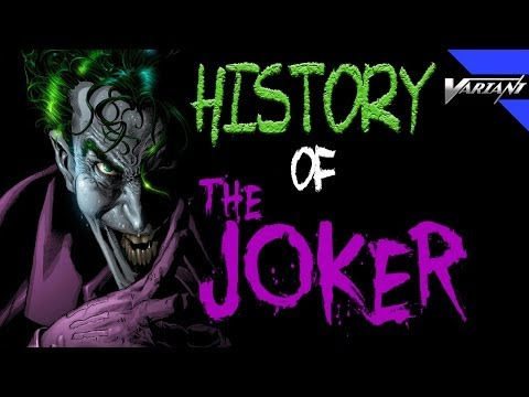 History Of The Joker!