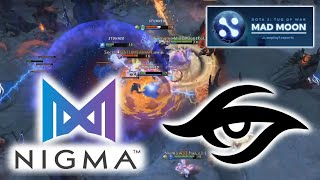 INTENSE FIGHT in GRAND FINAL ! SECRET vs NIGMA - Game 1&2 WePlay! Mad Moon Dota 2