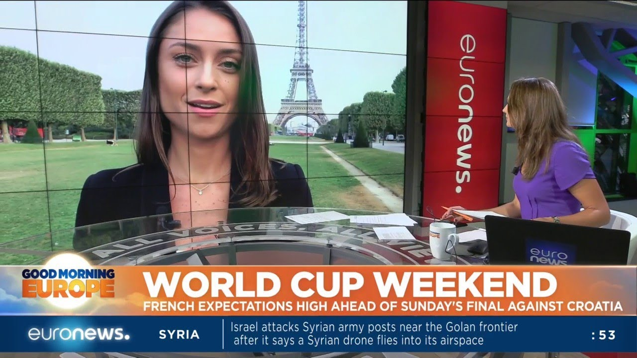 World Cup Weekend: French expectations high ahead of Sunday's all-European final against Croatia