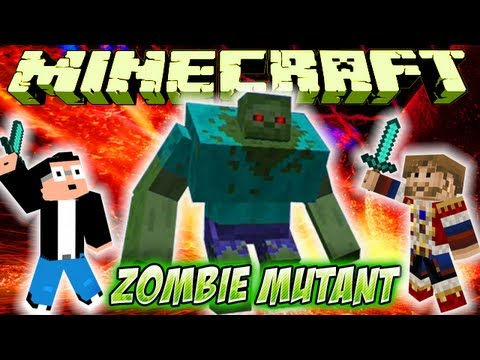 Fanta Bob Mods : Fight Vs ZOMBIE MUTANT Minecraft Mod