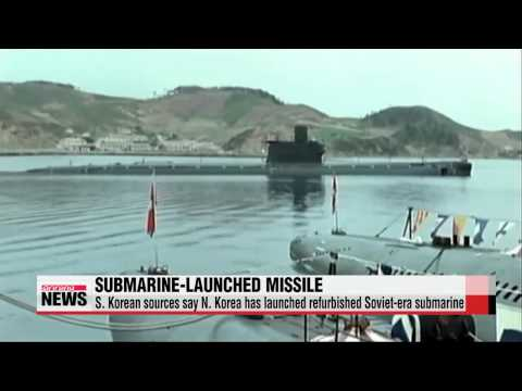 N. Korea tests ejection launcher for submarine missile: report   북한 잠수함발사 탄도미사일