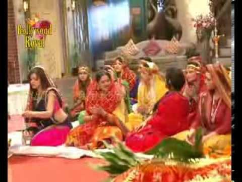 On location of TV Serial 'Madhubala'  Madhu doing 'Aarti' at home Part 3 thumbnail