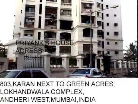 priyanka chopra house home full adress and car collection