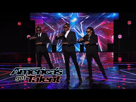 "Dragon House ""The Agents"": Hip-Hop Dance Crew Show Off Cool Moves - America's Got Talent 2014"