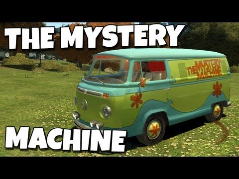 Grand Theft Auto IV - Mystery Machine - Scooby-Doo (MOD) HD