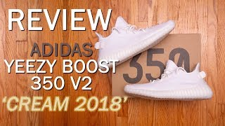 The MOST widespread YEEZY of ALL-TIME || adidas Yeezy Boost 350 V2 '2018 Cream' Review and On Feet