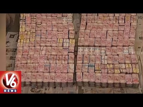 IT Raids On Contractor, Seizes Rs 163 cr Cash And 100 kg Gold | Tamil Nadu | V6 News