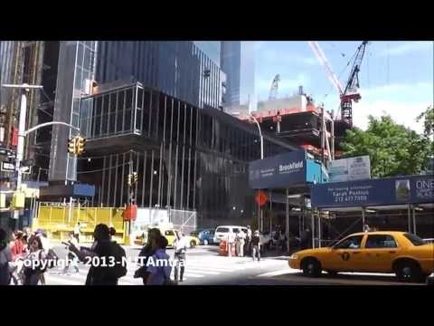 UPDATE! One World Trade Center / Freedom Tower 5/10/2013 construction progress part 2