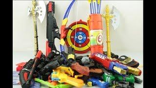Box of Toys ! GUNS BOX Toys Military & Police equipment | Gun toy (1)