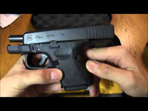 Gen 4 Glock 27 First Thoughts (HD)