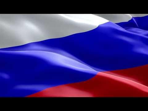 Футаж Флаг России триколор