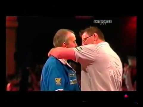Phil Taylor 132 Checkout. Blocked Bull Amazing
