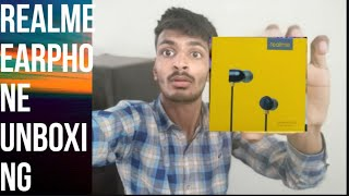 REALME  😫 EARPHONE  Unboxing or my opinion 😓