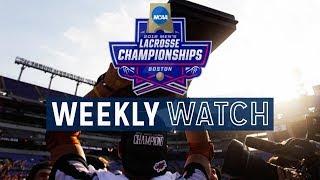 NCAA DI Men's Lacrosse Quarterfinal Highlights