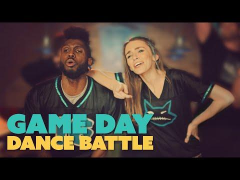 DANCE BATTLE: DENVER vs CAROLINA! #YouTubeAdBlitz (4K)
