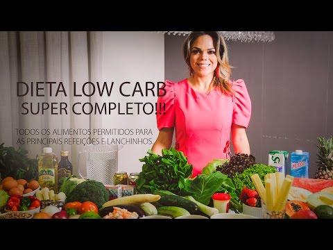 Dieta Low Carb SUPER COMPLETO!!! Todos Os Alimentos Permitidos!