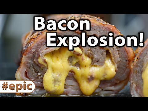 Bacon Explosion Keto Bacon Explosion Caveman