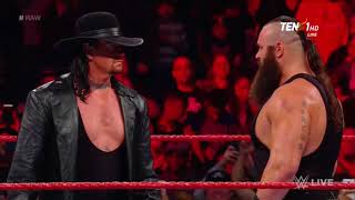 The Undertaker Returns and Destroy Braun Strowman and His Family With His Brother Kane