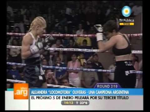 Vivo en Argentina - Deportes: Alejandra